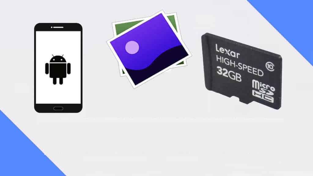 Wiederherstellen gelöschter Fotos von der SD-Karte unter Android