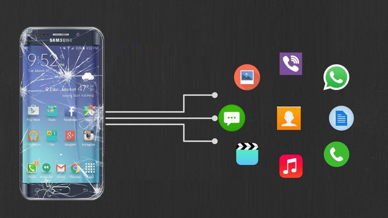 Wiederherstellung Daten vom Android-Telefon Mit kaputtem Bildschirm